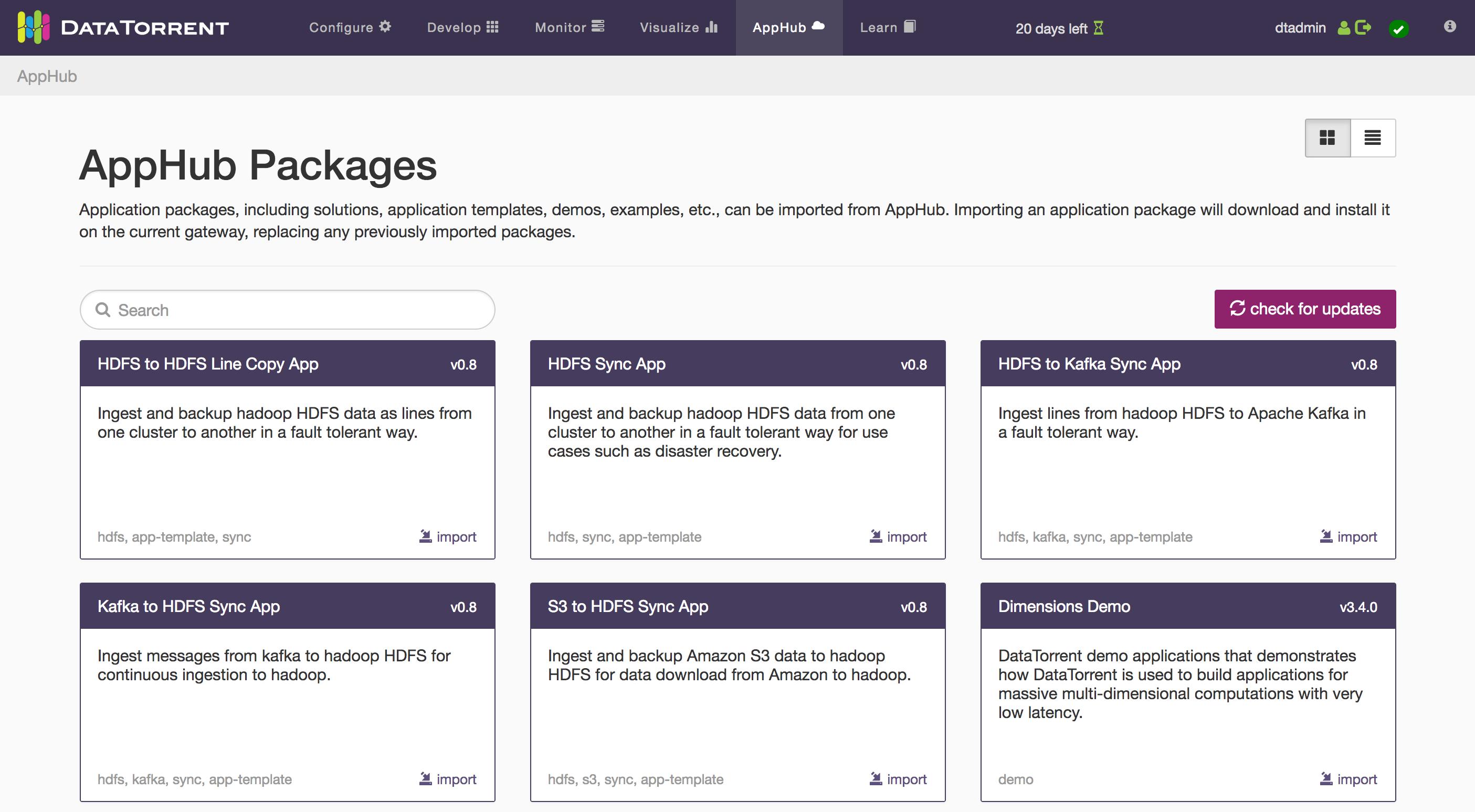 apex applications download